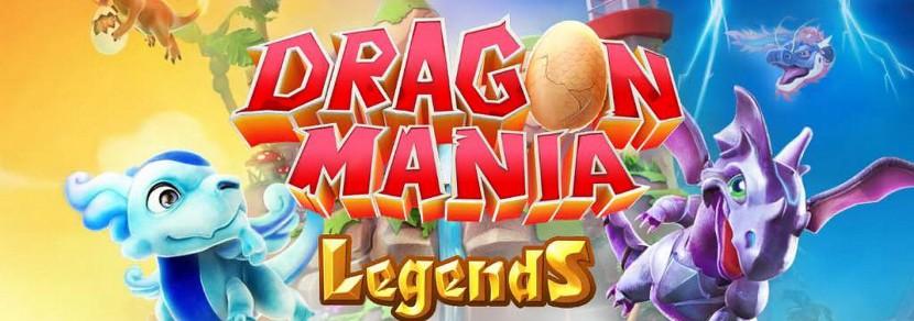 Sortie de Dragon Mania Legend : élève des dragons de combat !