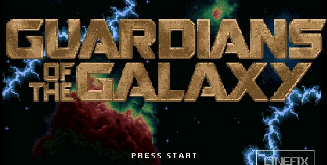 Si les Gardiens de la Galaxie était un jeu des années 80, cela donnerait quoi ?