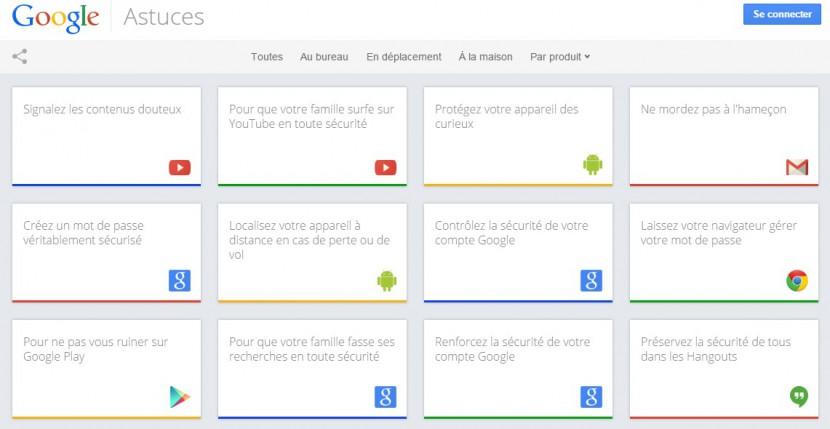 Google Astuces : des dizaines de conseils pour utiliser Gmail, Android, Chrome, YouTube…
