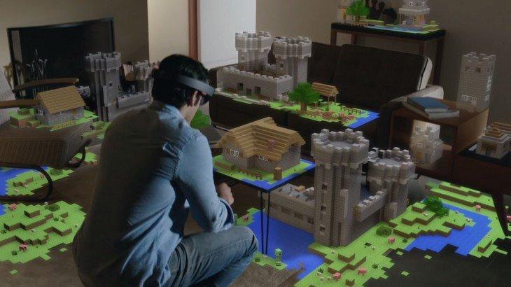 Avec Hololens de Microsoft, découvre Minecraft comme jamais auparavant