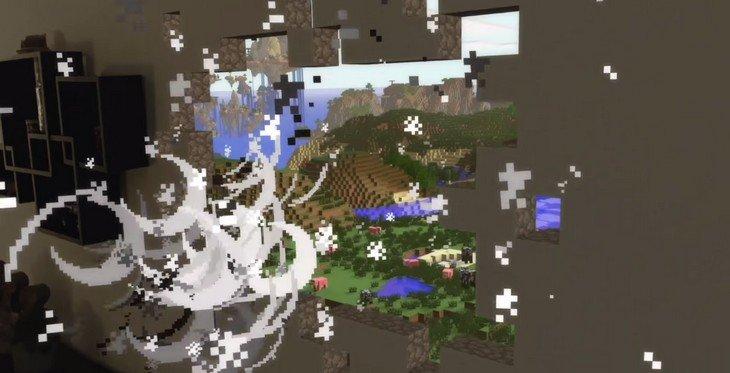 Minecraft avec Hololens