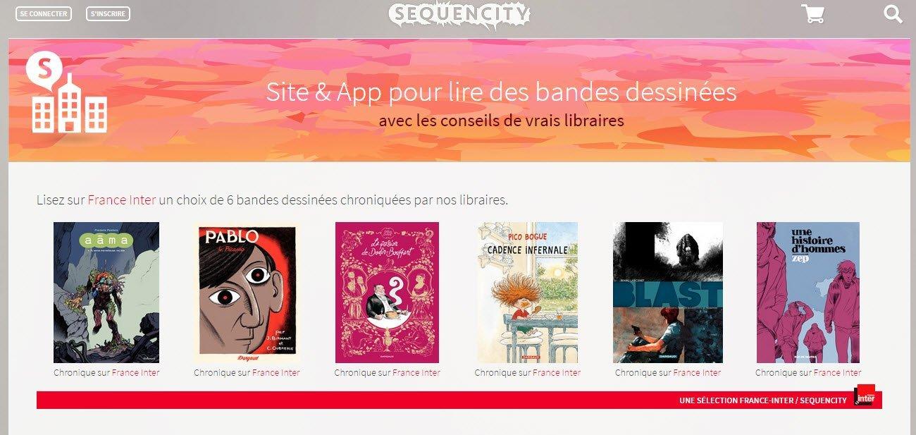 Sequencity : l'appli pour choisir ta BD numérique grâce aux conseils des libraires