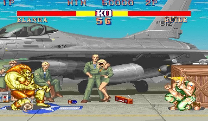 Street Fighter II - retrogaming