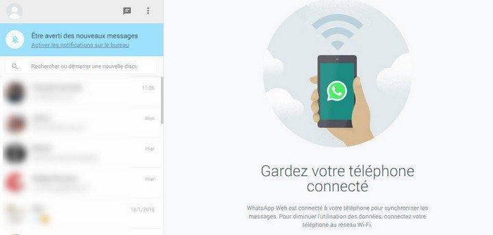 WhatsApp sur son PC ou Mac