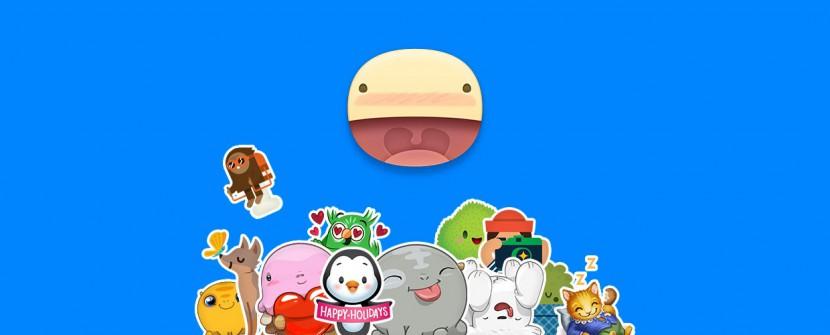 Stickered for Messenger : la nouvelle appli de Facebook qui pose des autocollants rigolos sur tes photos