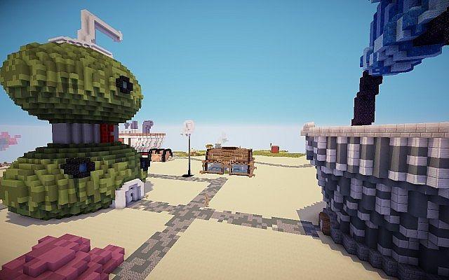 Bob l'éponge Mod Minecraft Bikini Bottom