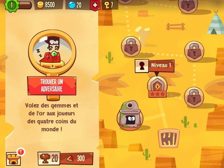 King of Thieves - adversaire