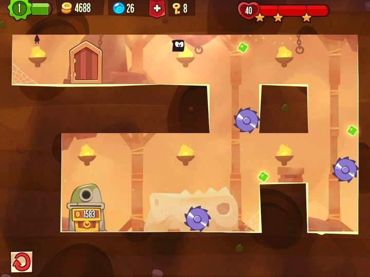 King of Thieves - niveau