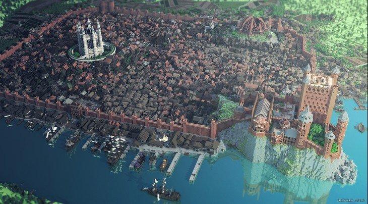 King's Landing dans Minecraft
