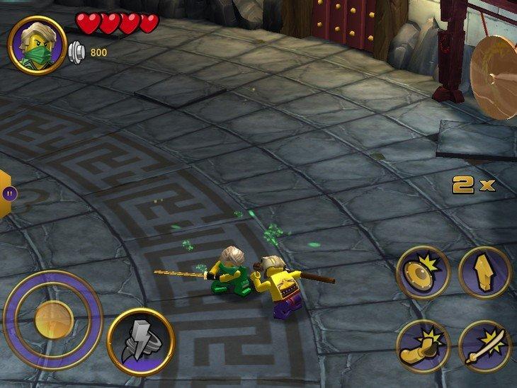 LEGO Ninjago Tournament combat