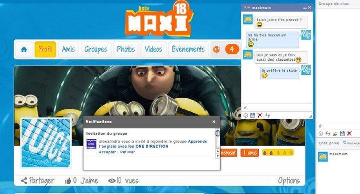 Maxi18 profil