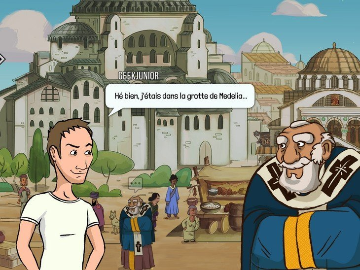 Medelia - mission à Constantinople