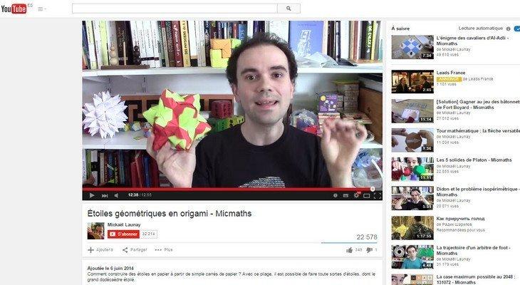MicMaths la chaîne YouTube pour aimer les mathématiques