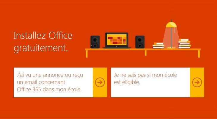Microsoft Office gratuit pour les étudiants. Et pour les lycéens et collégiens ?