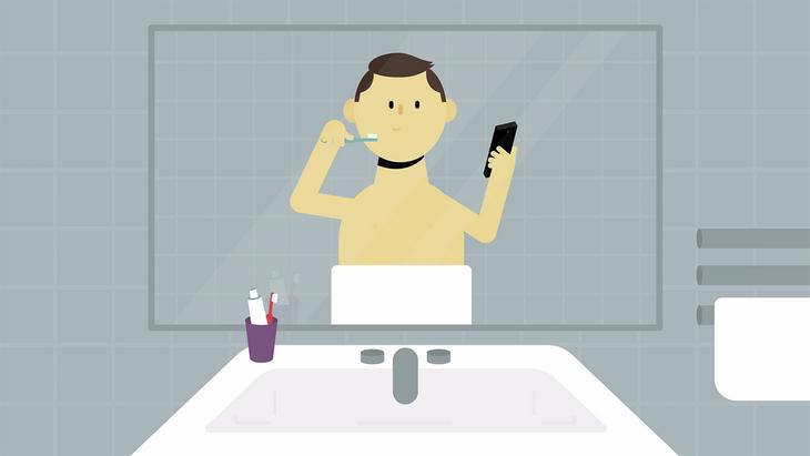 Accro à ton smartphone ? Regarde cette vidéo pour le savoir