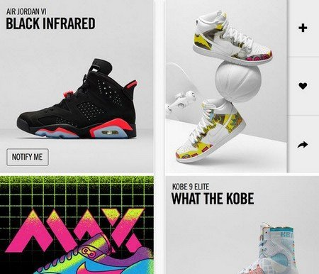 Nike SNKRS captures