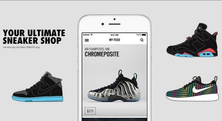 Nike et Adidas lancent leur appli pour les fans de sneakers