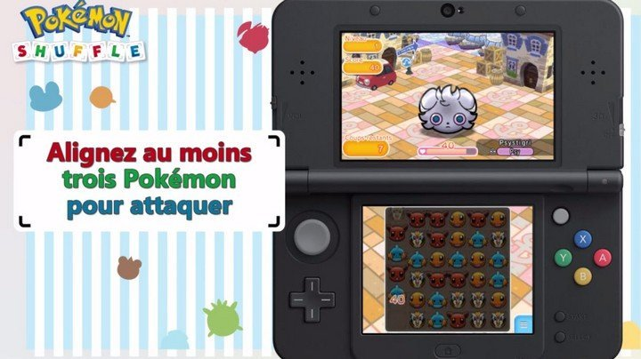 Pokémon Shuffle jeu