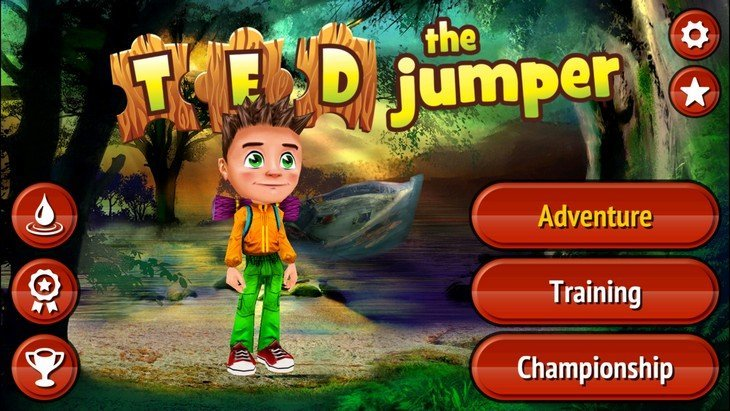 Jeu mobile : Ted the Jumper, le puzzle game zen, très zen…