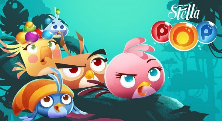Angry Birds Stella Pop débarque sur Android et iPad/iPhone !
