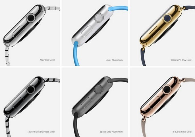 Apple watch color options