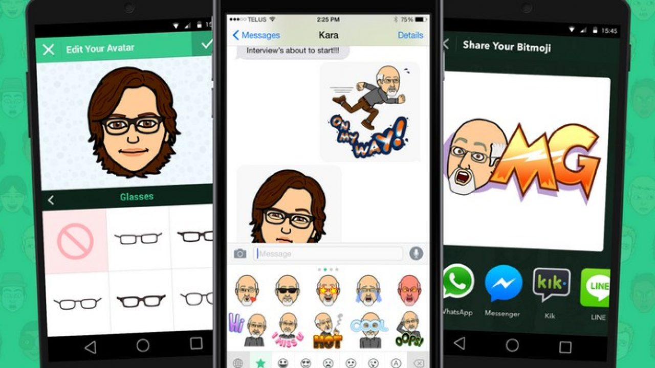 Bitmoji Cree Des Stickers Avec Ton Visage Pour Facebook Whatsapp Geek Junior