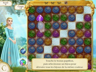 Cendrillon Free Fall gameplay