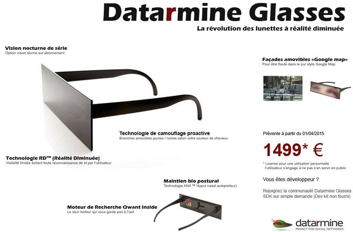 DataRmine Glasses