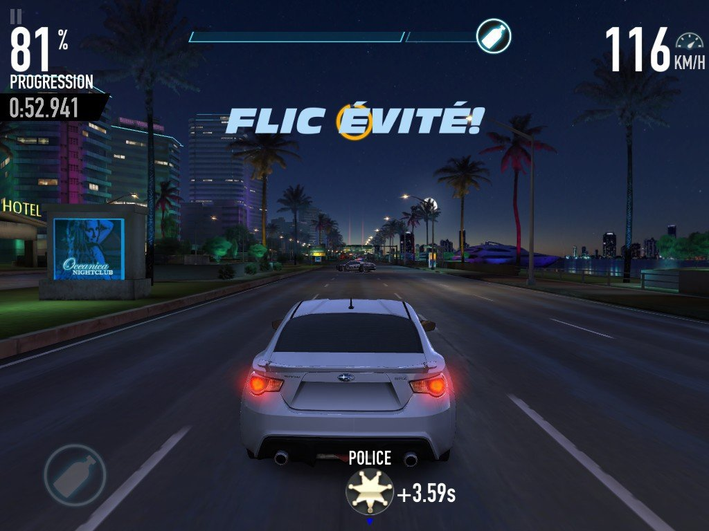 Fast & Furious Legacy race