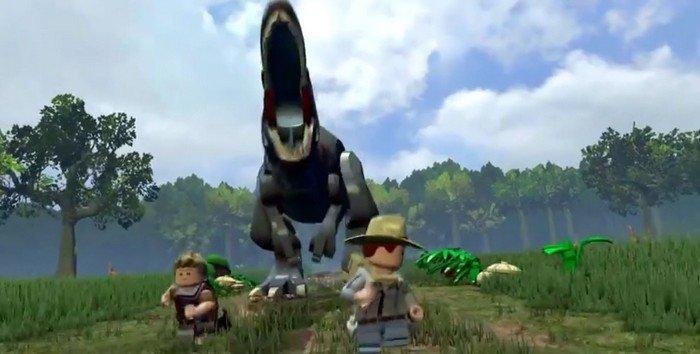 D couvre lego jurassic world dans une premi re vid o qui - Jeux de jurassic park 3 ...