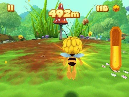 Maya abeille défi de vol - course