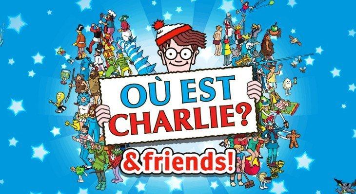 Charlie & Friends : Mais où est Charlie ? Ton mobile te donne la réponse