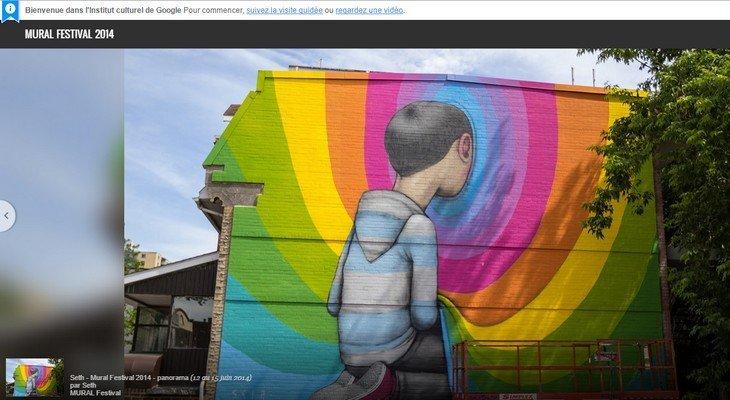 Découvre 10 000 chefs d'œuvre de street art avec Google