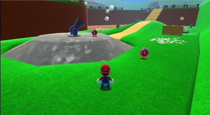 Jouer à Super Mario 64 HD sur ton navigateur c'est possible !