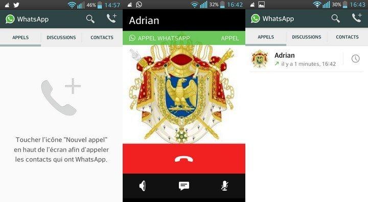 WhatsApp Appels