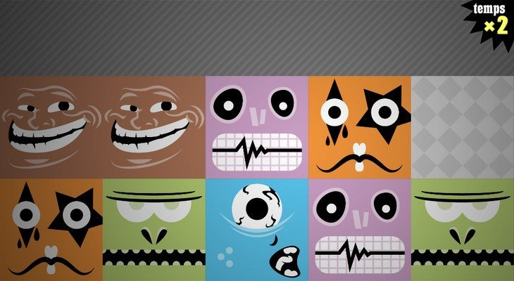 mime! le jeu de mémoire au rythme endiablé ! (Android / iOS)