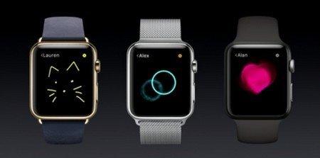 montre apple watch dessin