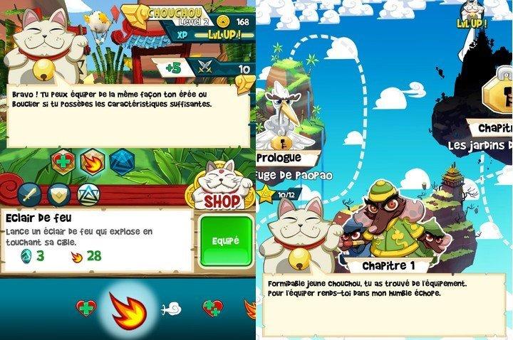 Chouchou Puzzle Adventure gameplay