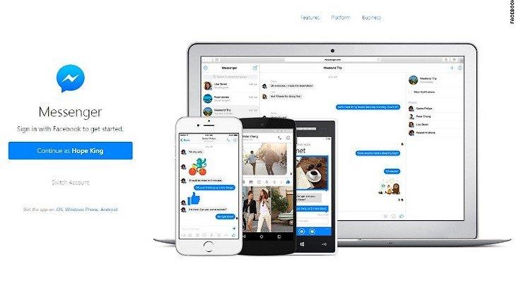 Facebook Messenger : l'application web sur ton navigateur arrive bientôt