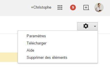 Google supprimer des éléments - historique
