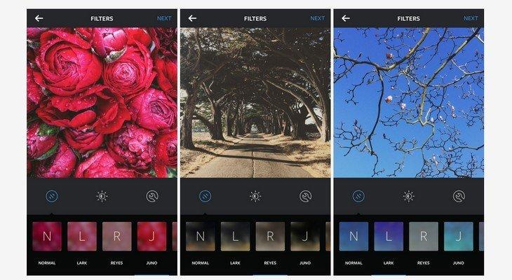 Mise à jour Instagram : 3 nouveaux filtres et l'arrivée des émoticônes dans les hashtags