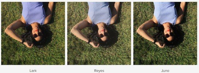 Instagram nouveaux filtres