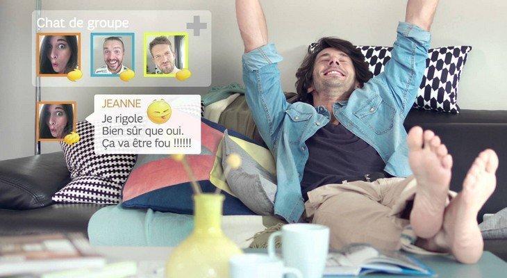 Découvre les SMS de nouvelle génération de Orange et SFR