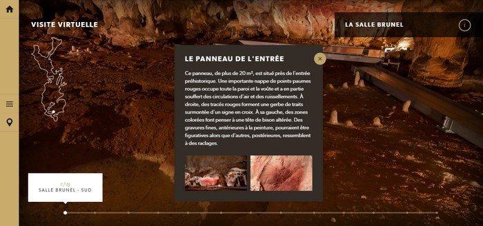 La grotte Chauvet visite virtuelle