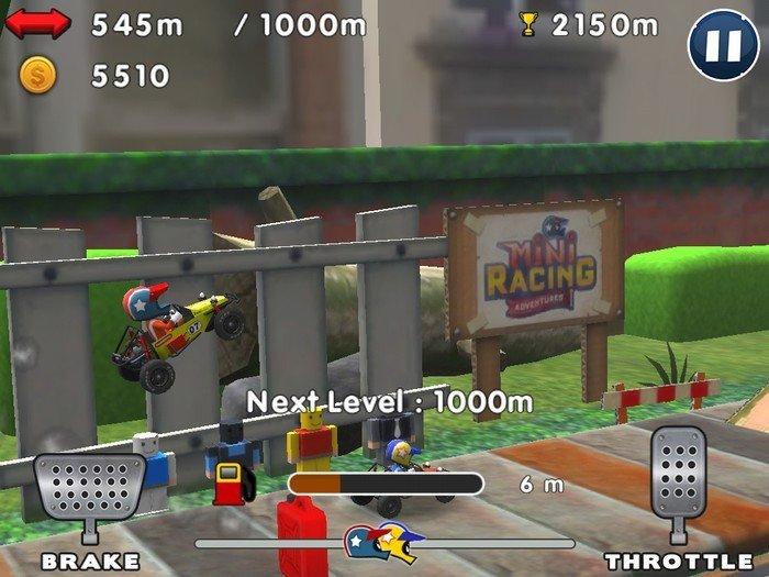 Mini Racing Adventures Gameplay