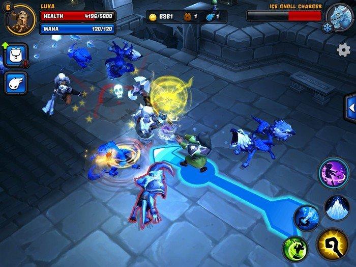 Spirit Lords gameplay
