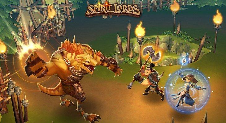 Spirit Lords : un jeu vidéo de rôle à la Diablo sur ton mobile