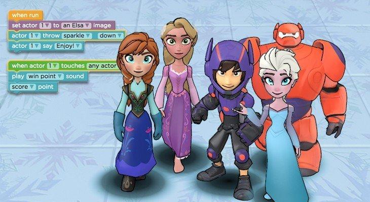 Apprendre à coder avec les héros de Disney Infinity, c'est possible !