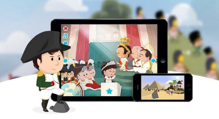Quelle Histoire : des applis pour les kids pour découvrir les grands personnages de l'Histoire