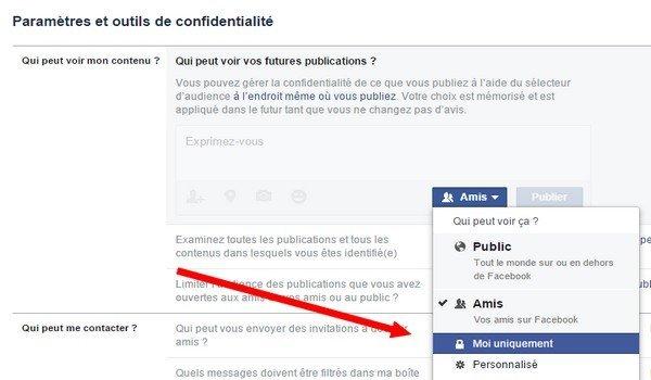 comment être invisible sur facebook messenger
